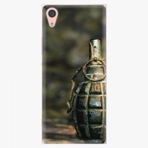 Plastový kryt iSaprio - Grenade - Sony Xperia XA1
