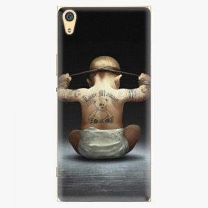 Plastový kryt iSaprio - Crazy Baby - Sony Xperia XA1 Ultra
