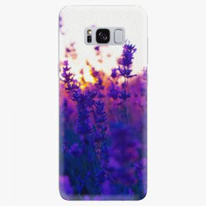 Plastový kryt iSaprio - Lavender Field - Samsung Galaxy S8 Plus