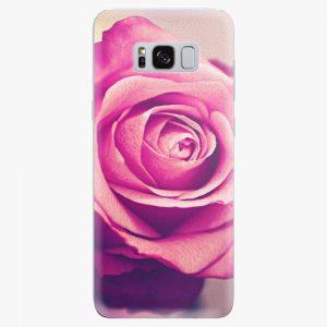 Plastový kryt iSaprio - Pink Rose - Samsung Galaxy S8 Plus