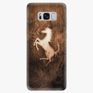 Plastový kryt iSaprio - Vintage Horse - Samsung Galaxy S8 Plus