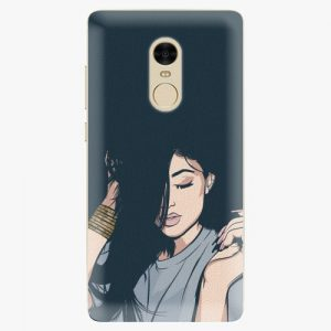 Plastový kryt iSaprio - Swag Girl - Xiaomi Redmi Note 4