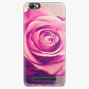Plastový kryt iSaprio - Pink Rose - Lenovo Vibe C