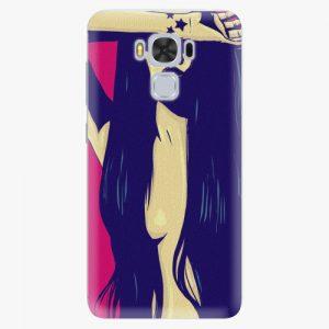 Plastový kryt iSaprio - Cartoon Girl - Asus ZenFone 3 Max ZC553KL