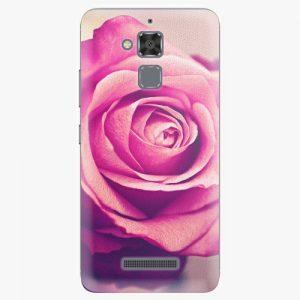 Plastový kryt iSaprio - Pink Rose - Asus ZenFone 3 Max ZC520TL