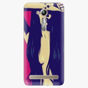Plastový kryt iSaprio - Cartoon Girl - Asus ZenFone Go ZB500KL