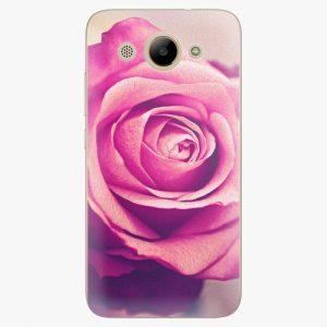 Plastový kryt iSaprio - Pink Rose - Huawei Y3 2017