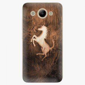 Plastový kryt iSaprio - Vintage Horse - Huawei Y3 2017