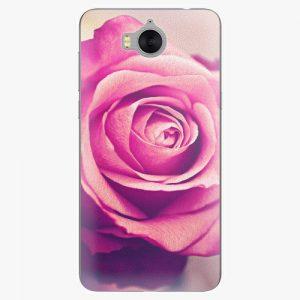 Plastový kryt iSaprio - Pink Rose - Huawei Y5 2017 / Y6 2017