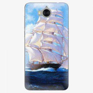 Plastový kryt iSaprio - Sailing Boat - Huawei Y5 2017 / Y6 2017