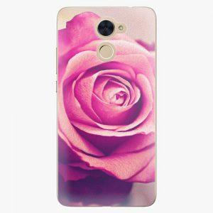 Plastový kryt iSaprio - Pink Rose - Huawei Y7 / Y7 Prime