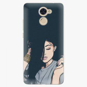 Plastový kryt iSaprio - Swag Girl - Huawei Y7 / Y7 Prime