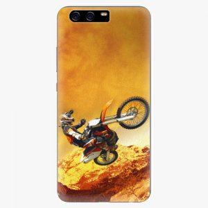 Plastový kryt iSaprio - Motocross - Huawei P10 Plus