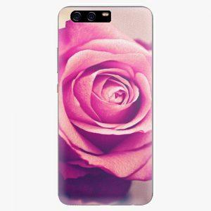 Plastový kryt iSaprio - Pink Rose - Huawei P10 Plus