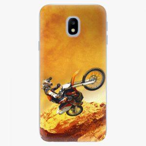 Plastový kryt iSaprio - Motocross - Samsung Galaxy J3 2017