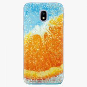 Plastový kryt iSaprio - Orange Water - Samsung Galaxy J3 2017