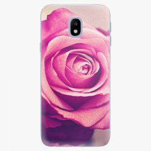 Plastový kryt iSaprio - Pink Rose - Samsung Galaxy J3 2017