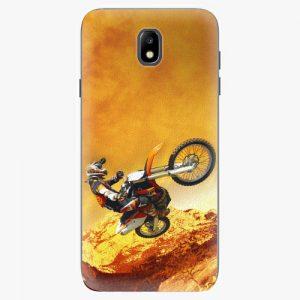 Plastový kryt iSaprio - Motocross - Samsung Galaxy J7 2017