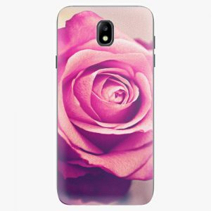 Plastový kryt iSaprio - Pink Rose - Samsung Galaxy J7 2017