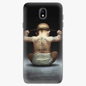 Plastový kryt iSaprio - Crazy Baby - Samsung Galaxy J7 2017
