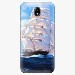 Plastový kryt iSaprio - Sailing Boat - Samsung Galaxy J7 2017