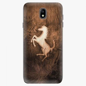 Plastový kryt iSaprio - Vintage Horse - Samsung Galaxy J7 2017