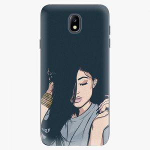 Plastový kryt iSaprio - Swag Girl - Samsung Galaxy J7 2017
