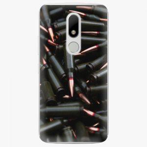Plastový kryt iSaprio - Black Bullet - Lenovo Moto M