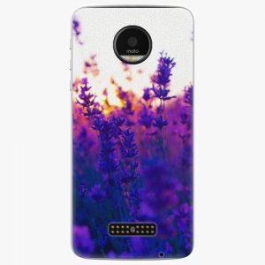 Plastový kryt iSaprio - Lavender Field - Lenovo Moto Z