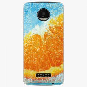 Plastový kryt iSaprio - Orange Water - Lenovo Moto Z