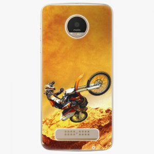 Plastový kryt iSaprio - Motocross - Lenovo Moto Z Play