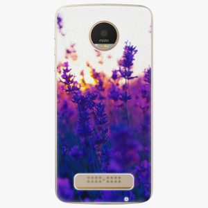 Plastový kryt iSaprio - Lavender Field - Lenovo Moto Z Play