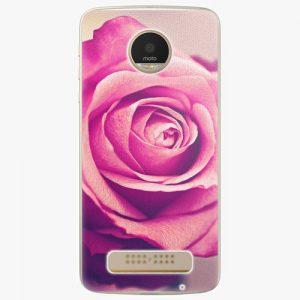 Plastový kryt iSaprio - Pink Rose - Lenovo Moto Z Play