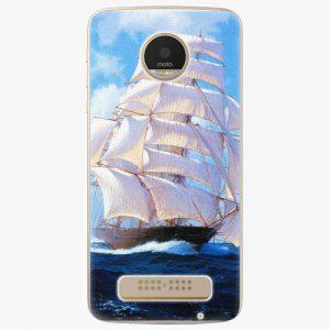 Plastový kryt iSaprio - Sailing Boat - Lenovo Moto Z Play