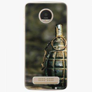 Plastový kryt iSaprio - Grenade - Lenovo Moto Z Play