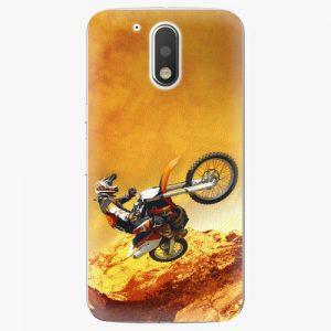 Plastový kryt iSaprio - Motocross - Lenovo Moto G4 / G4 Plus