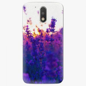 Plastový kryt iSaprio - Lavender Field - Lenovo Moto G4 / G4 Plus