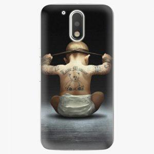 Plastový kryt iSaprio - Crazy Baby - Lenovo Moto G4 / G4 Plus