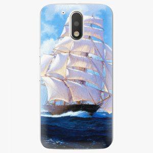 Plastový kryt iSaprio - Sailing Boat - Lenovo Moto G4 / G4 Plus