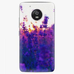 Plastový kryt iSaprio - Lavender Field - Lenovo Moto G5