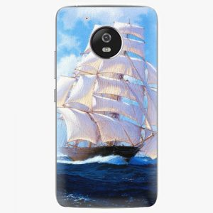 Plastový kryt iSaprio - Sailing Boat - Lenovo Moto G5