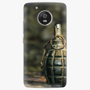 Plastový kryt iSaprio - Grenade - Lenovo Moto G5