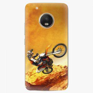 Plastový kryt iSaprio - Motocross - Lenovo Moto G5 Plus