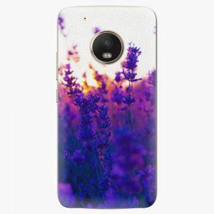 Plastový kryt iSaprio - Lavender Field - Lenovo Moto G5 Plus