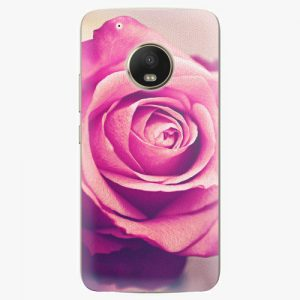 Plastový kryt iSaprio - Pink Rose - Lenovo Moto G5 Plus