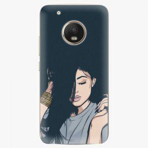 Plastový kryt iSaprio - Swag Girl - Lenovo Moto G5 Plus