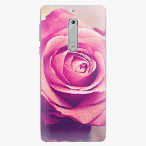 Plastový kryt iSaprio - Pink Rose - Nokia 5