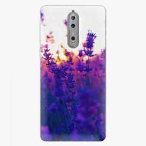 Plastový kryt iSaprio - Lavender Field - Nokia 8