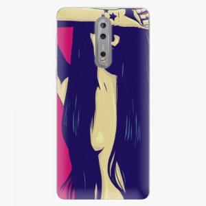 Plastový kryt iSaprio - Cartoon Girl - Nokia 8