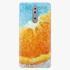Plastový kryt iSaprio - Orange Water - Nokia 8